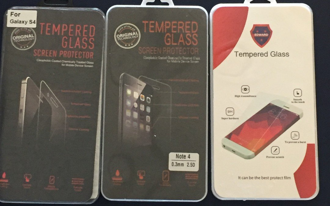Free Tempered Glass with repair