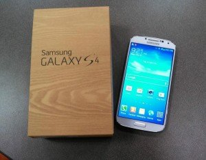 boxed galaxy s4
